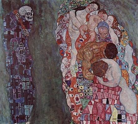 Vie et la mort, La_Klimt_peinture