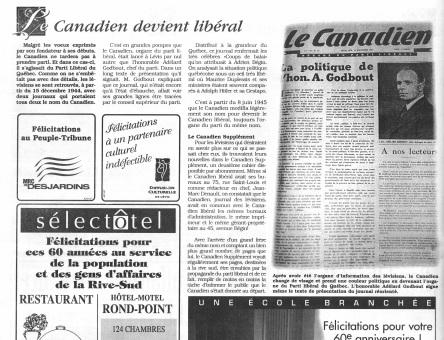 Le Canadien 1937_Levis