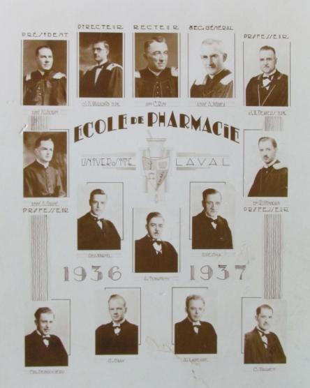 Martel Georges Univ Laval 1937