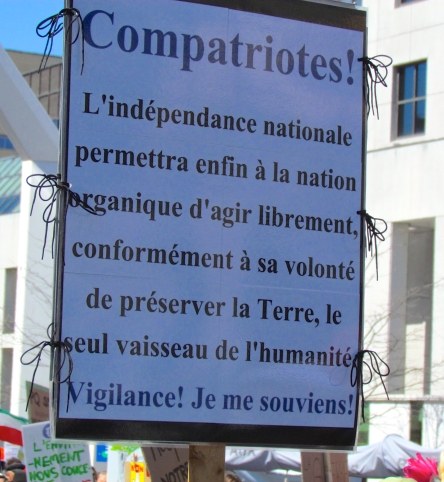 Montreal Jour de la Terre CHOIX - 21