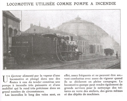 locomotive servant de pompe a incendie_accident ferroviaire