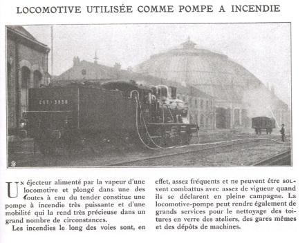 locomotive servant de pompe a incendie_accident ferroviaire