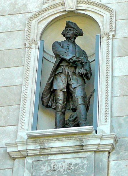 F Gaston de levis statue de l-p hebert 18 mai 2010