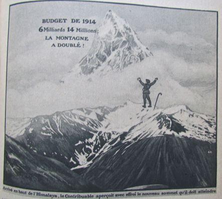 xc L'Himalaya des budgets 1914