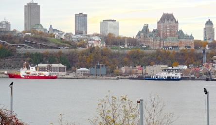 Québec à vue d'oiseau 21-10-2014