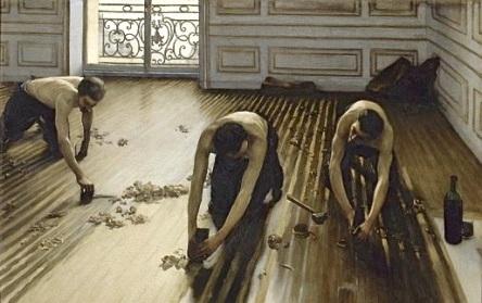 Caillebotte Gustave_Les Raboteurs de parquet 1875_Muséee d'Orsay