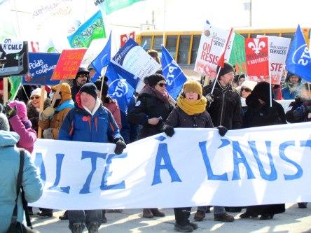Manif contre l'austérité_Lévis_26-02-2015_ - 14