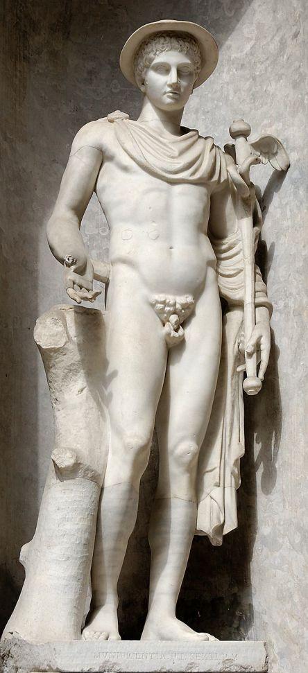 Hermes_dieu du voyage_Ingenui_Pio-Clementino_Inv544
