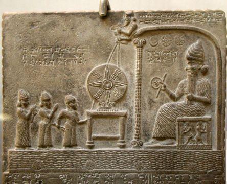 Shamash, dieu_Tablette de Shamash_relief