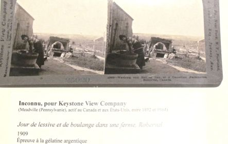 5 Jour de lessive et de boulange, ferme, Roberval 1909_2