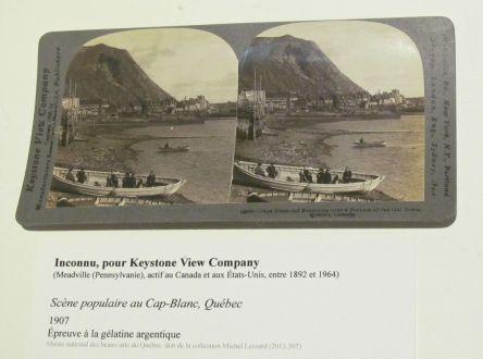 8 Scene populaire au Cap-Blanc, Québec 1907