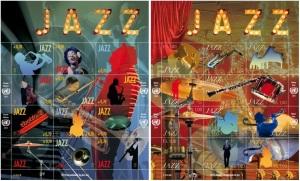 Timbre Journée intern du jazz 2015