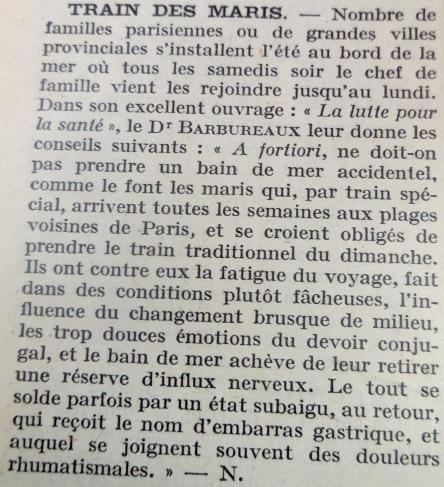 docteur Charles Burlureaux_train des maris