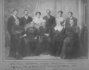 Martel Jean-Baptiste phcien Sa famille