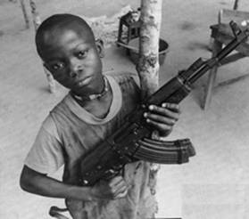 misere enfant guerrier