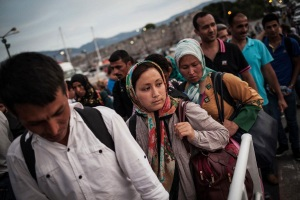 Etranger 06-05-2015 Migrants syriens Photo ONU