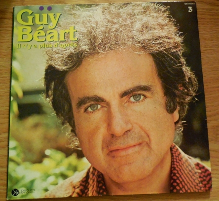 Guy Béart Pochette 33 tours Il n'y a plus