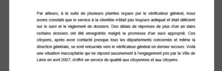 Levis Rapport du VG 2007 Service a la clientele 1:2 -v2