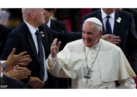 pape Francois en Bolivie Juill 2015