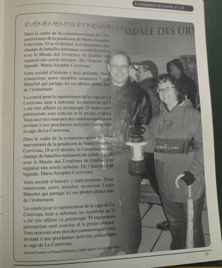 LSDL no 128 print 2013_rapatriement cage_Pelletier
