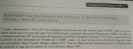 LSDL no 129 Rapport du president 2012-2013 _ 070 - Version 2