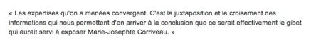 Corriveau expertises concluantes TOUPIN - V 2