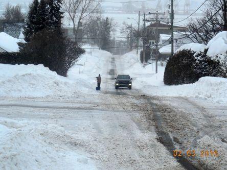 Levis rue Montcalm hiver 02-03-2016