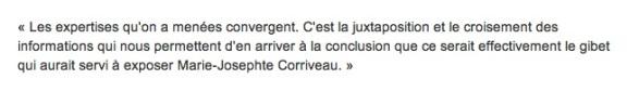 Corriveau expertises concluantes TOUPIN - V 2_R-Canada 9 nov15