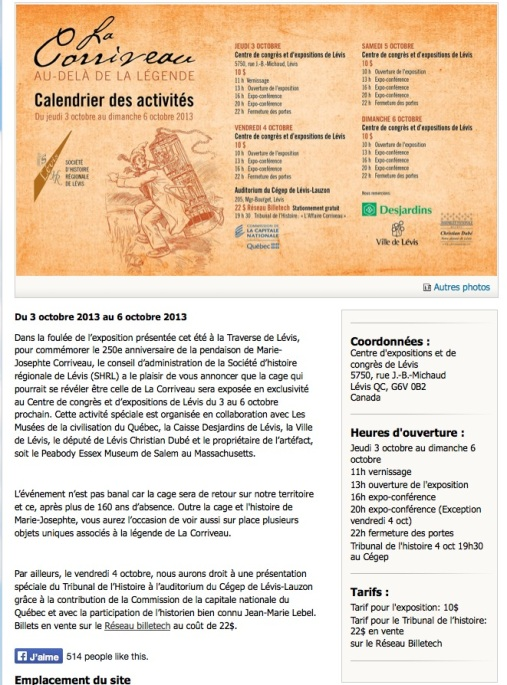 Corriveau Expo centre congres 2013_authenticite incertaine - Version 7